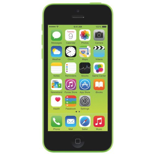 iPhone 5c 8GB - Green - 2 Year Agreement