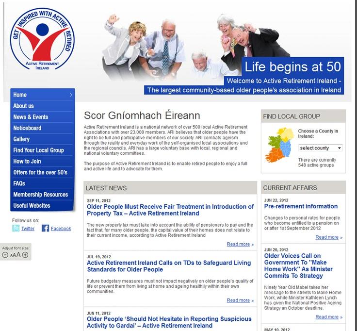 Active Ireland Website Portfolio images, Ireland, Life