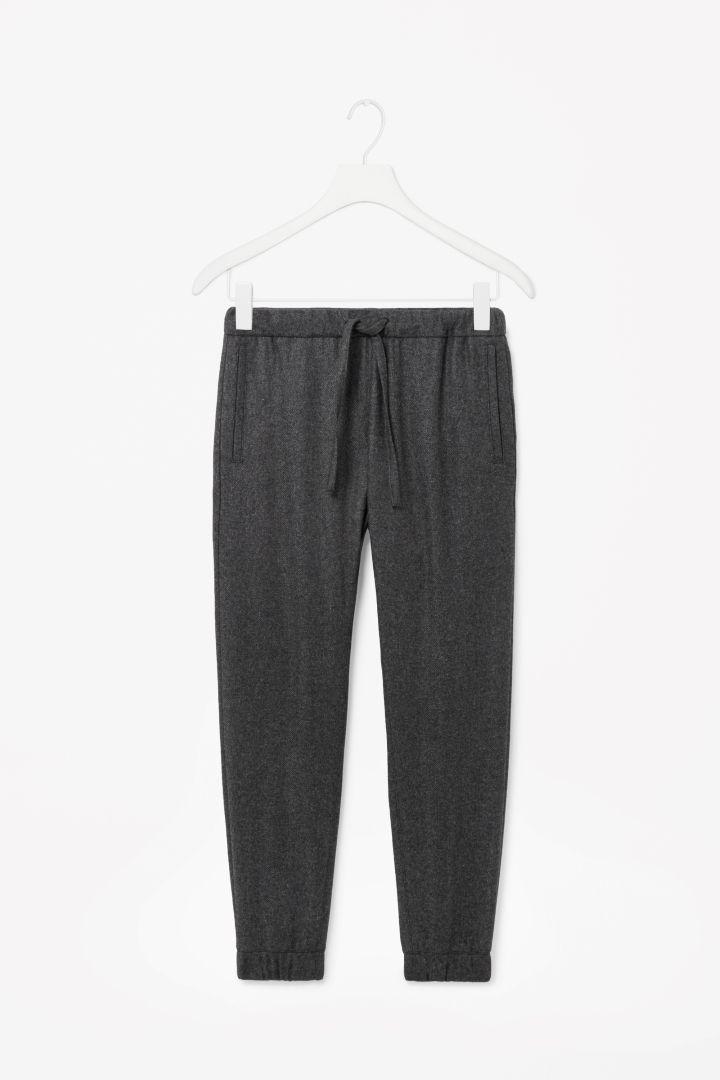 COS   Cuffed wool trousers