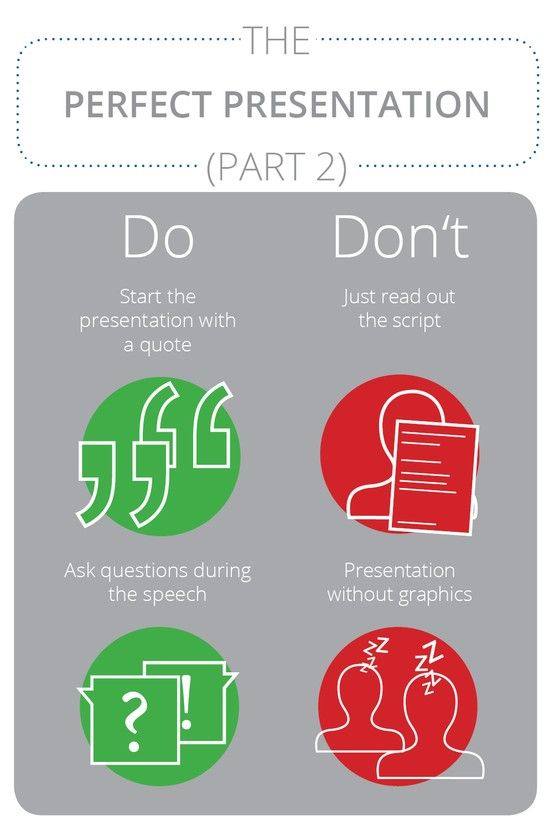 The perfect presentation (part 2): dos and don'ts for a good PowerPoint presentation