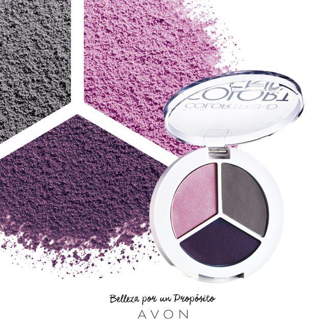 Llená tu mirada de misterio violeta. ¡Que tus ojos den que hablar!
