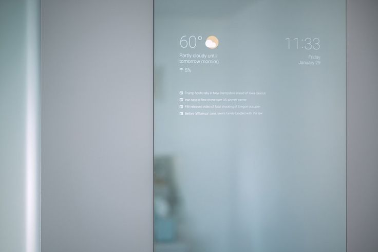 'Google Now' Makes A Smart Mirror Straight Out Of Sci-Fi - D'Marge