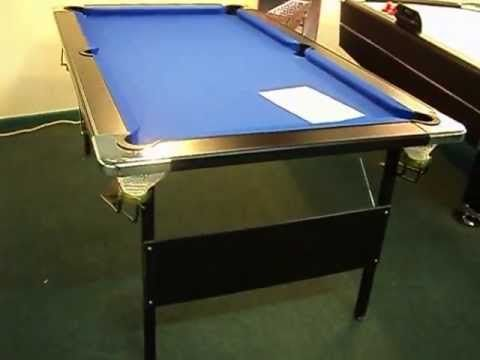 Hathaway Fairmont 6' Portable Pool Table | #external #SportingGamesEquipment