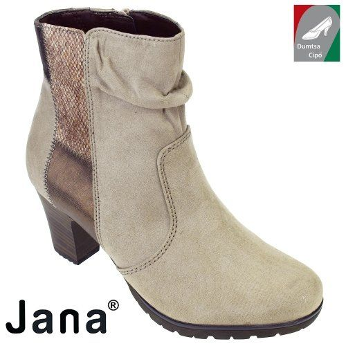 Jana női bokacsizma 8-25374-29 341 drapp