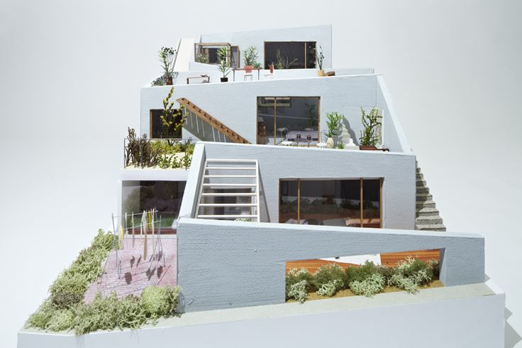 nice model, Garden Complex by On Design The firm...
