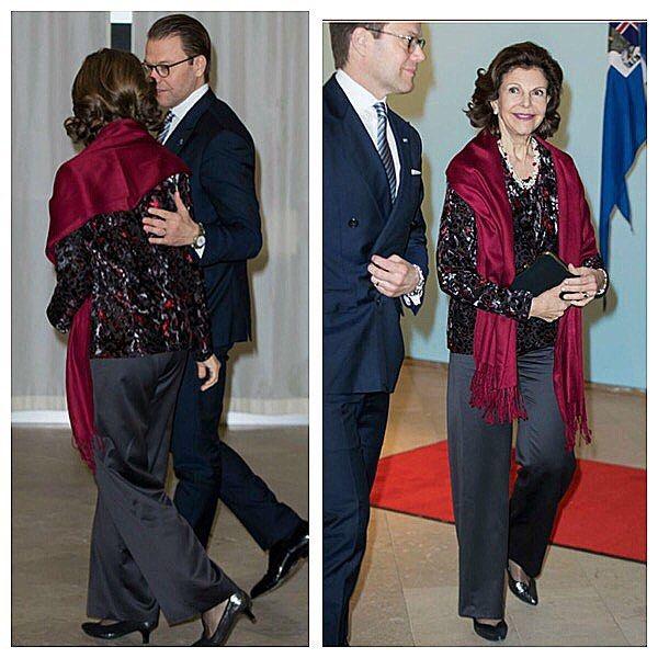 Queen Silvia and Prince Daniel yesterday❤️❤️Svensk Damtidning❤️❤️#royals #royalqueen #royalprince #kungahuset #kungafamiljen #swedishroyals #swedishroyalfamily #queensilvia #drottningsiliva #princedaniel