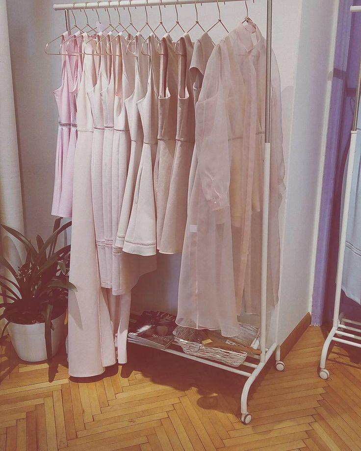#New #RoseQuartz beauties in! #maisonraquette #raquette #pinkpastel #pastel #colorpalette #trends