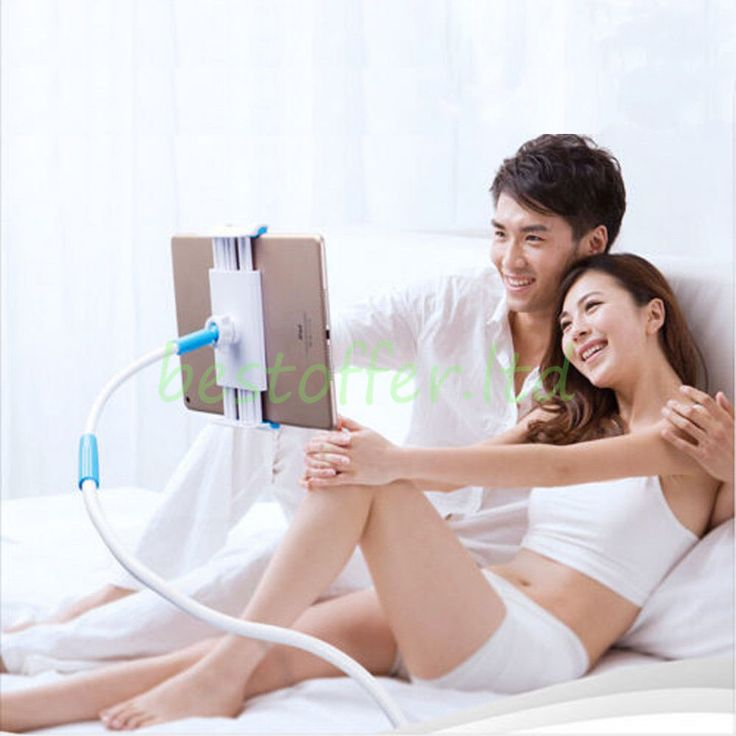 Flexible Lazy Mobile Phone & Tablet Stand Holder Car Bed Desk For iPhone iPad