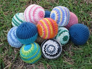 Ravelry: Knitted Hacky Sack pattern by Lisa Benden