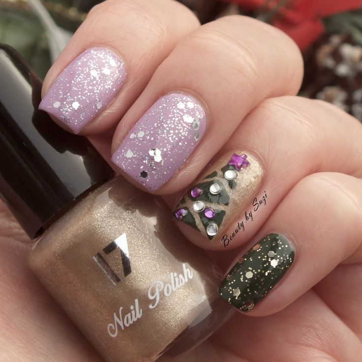 Christmas Nailspirations 2014: Christmas Tree #nailart #christmas
