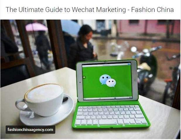 http://fashionchinaagency.com/ultimate-guide-wechat-marketing/ | Wechat Marketing Top 10 tips - How to use wechat for Brands ? Good question! You will find a Guide to increase your follower on Wechat