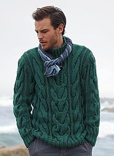My own men sweater i started yesterday.... Ravelry: Dutchylady's Dutchy's Men- CABLES