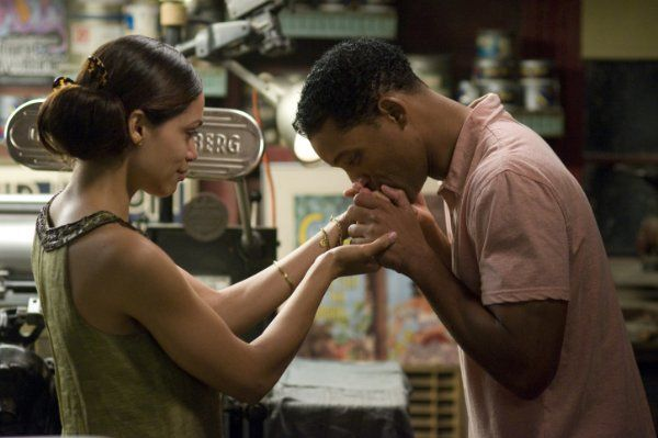 Seven Pounds. I had a lump in my throat and tears brimming at my eyes throughout the entire movie.