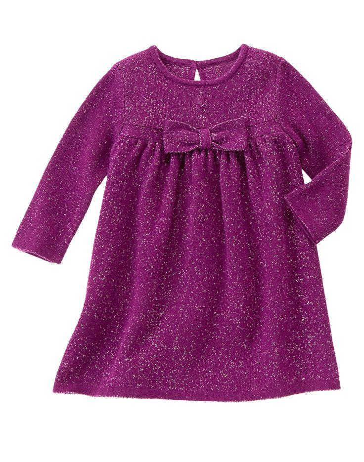 Sparkle Sweater Dress at Gymboree (Gymboree 0-24m)