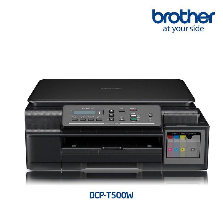 Printer Inkjet BROTHER DCP-T500W Print, Scan, Copy & Wifi