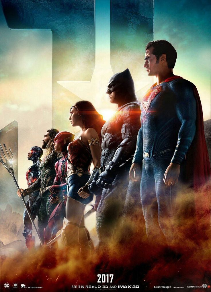 Justice League! Can't wait to see this movie when it comes out!!