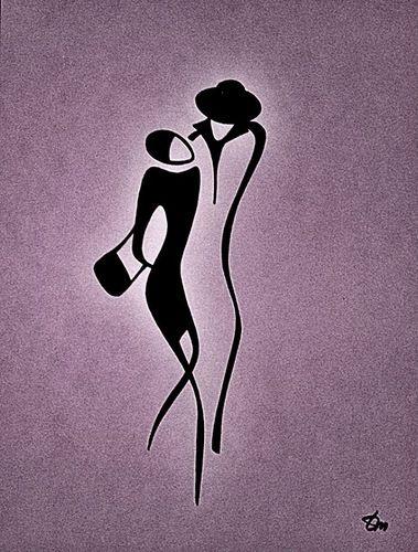Feel the line - Tatyana Markovtsev's art - Viola.bz