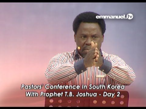 MUST-WATCH MESSAGE: TB Joshua Pastors Conference In South Korea!!! - YouTube