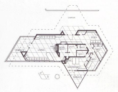 フランク・ロイド・ライトと菱形グリッド|『世界美術館』~近代建築 ...