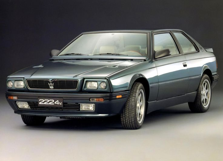 Gray Maserati Biturbo