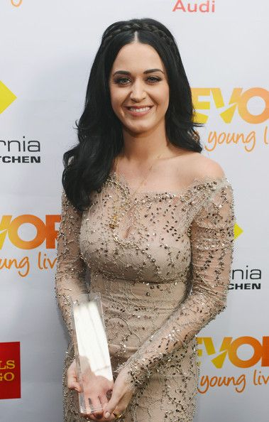 """Katy Perry Photos Photos - Honoree Katy Perry poses in the Getty Images and Wonderwall.com photo booth and green room at """"Trevor Live"""" honoring Katy Perry and Audi of America for The Trevor Project held at The Hollywood Palladium on December 2, 2012 in Los Angeles, California. - Getty Images & Wonderwall.com's Photo Booth And Green Room"""