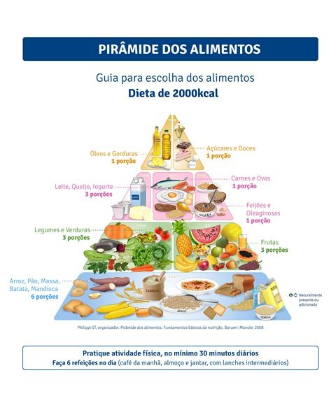 Pirâmide Nutricional