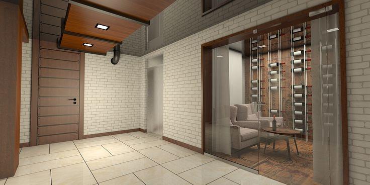 offene-küche-abtrennen-wohnzimmer-industrial-stil Couch Pinterest - offene küche wohnzimmer abtrennen