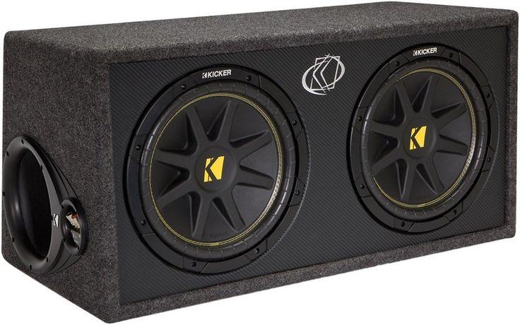Kicker 10DC122 Enclosed Car Audio Subwoofer