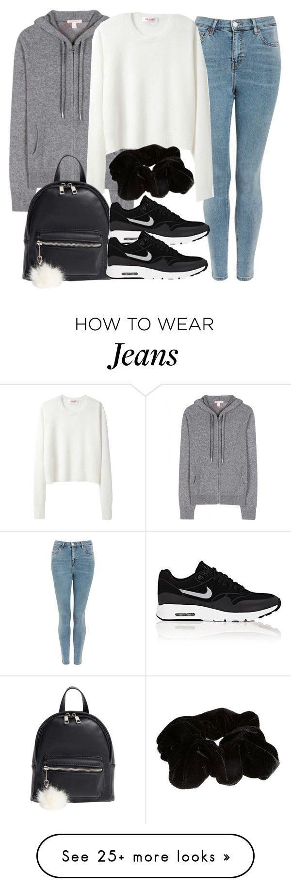 """Sin título #14411"" by vany-alvarado on Polyvore featuring Topshop, Burberry, Organic by John Patrick, BP., NIKE and River Island"