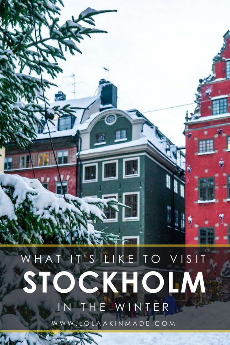 Fall in love with winter in Stockholm, Sweden through incredible photos. Travel to Stockholm for a glimpse of their street style and the beautiful architecture. Experience the many things to do in the city such as endless photography opportunities, museums, and restaurants. | Geotraveler's Niche Travel Blog #Stockholm #Sweden