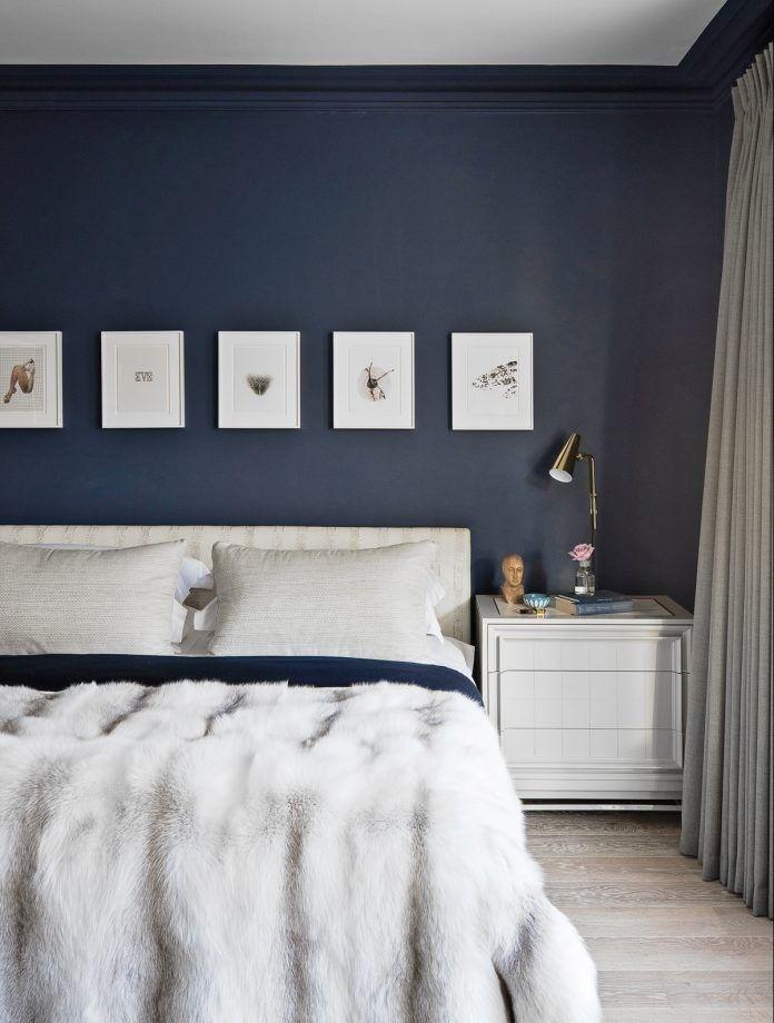 98 Best Navy Blue Bedroom Ideas 2019 Navy Blue Bedrooms Blue Bedroom Decor Dark Blue Bedrooms