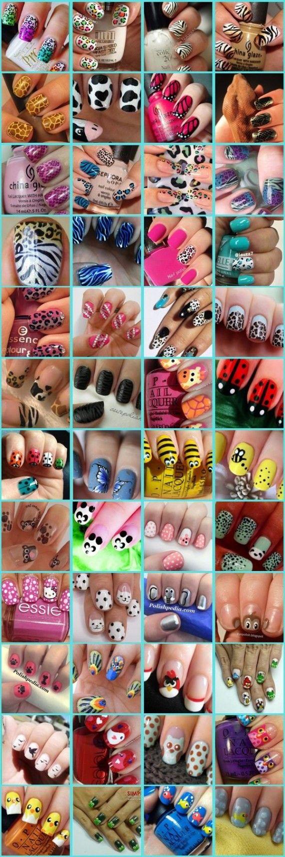 48 Decoraciones kawaii para tus uñas | Decoración de Uñas - Manicura y Nail Art