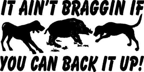 Hog and Hog Dogs, With Words Wild Boar Hunting Auto Decals, Vinyl Window Sticker | Home & Garden, Home Décor, Decals, Stickers & Vinyl Art | eBay!