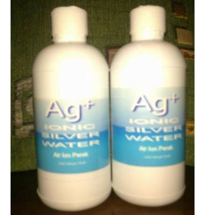 Ionic Silver Water (Ag+) Air Ion Perak 500 mtl ( isi 2 btl 500ml/paket )Ionic Silver Water (Ag+) Air Ion PerakModern Miracle, Natural Antibiotic Alternative