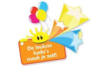 De leukste etiketten, doosjes, vlaggetjes etc. kun je zelf  maken. Met eigen foto en tekst - gratis op Party-Gifts