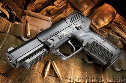 FN Five-Seven 5.7×28mm Pistol.  MSRP $1,316