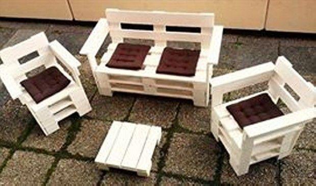Pallet Furniture #palletfurniture #palletideas #palletpatiofurniture #palletoutdoorfurniture