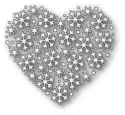 Memory Box Dies - Snowflake Heart