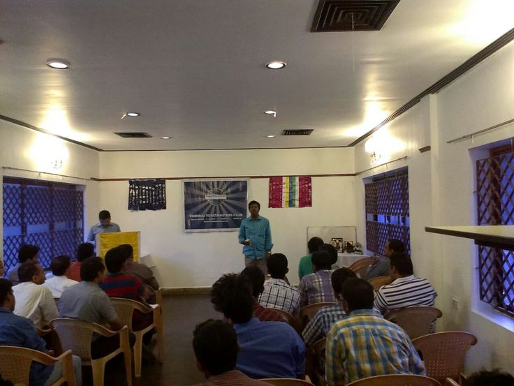 Played the role of evaluator at CTM Chennai on 110115 .. #toastmasters
