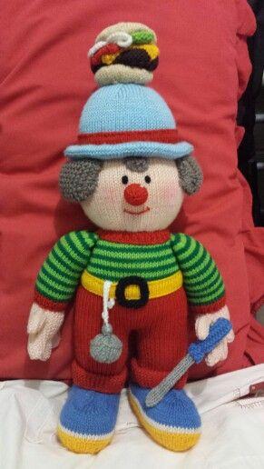 My Hand Knit - Alf the Apprentice #JeanGreenhowePattern