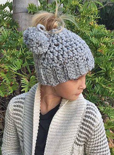 Messy Bun Hat 1013017b408