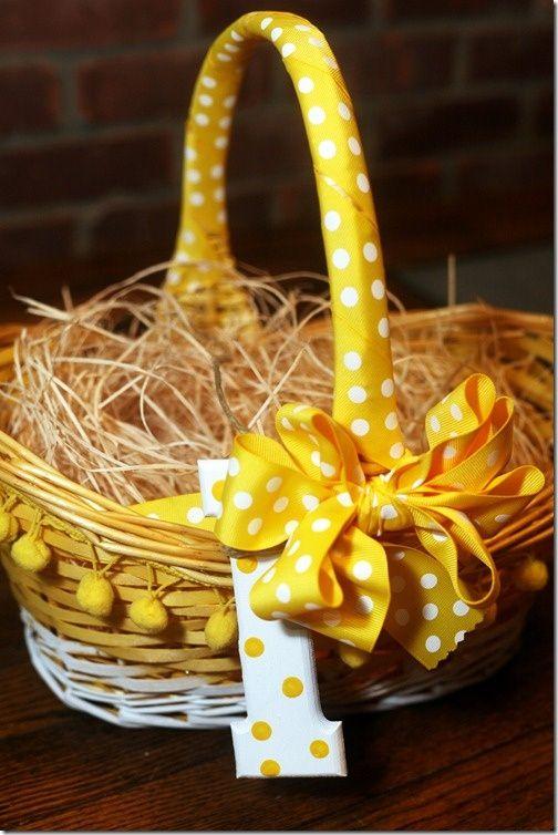 (13) Sweet Easter basket idea A great idea. | Grandbabies | Pinterest