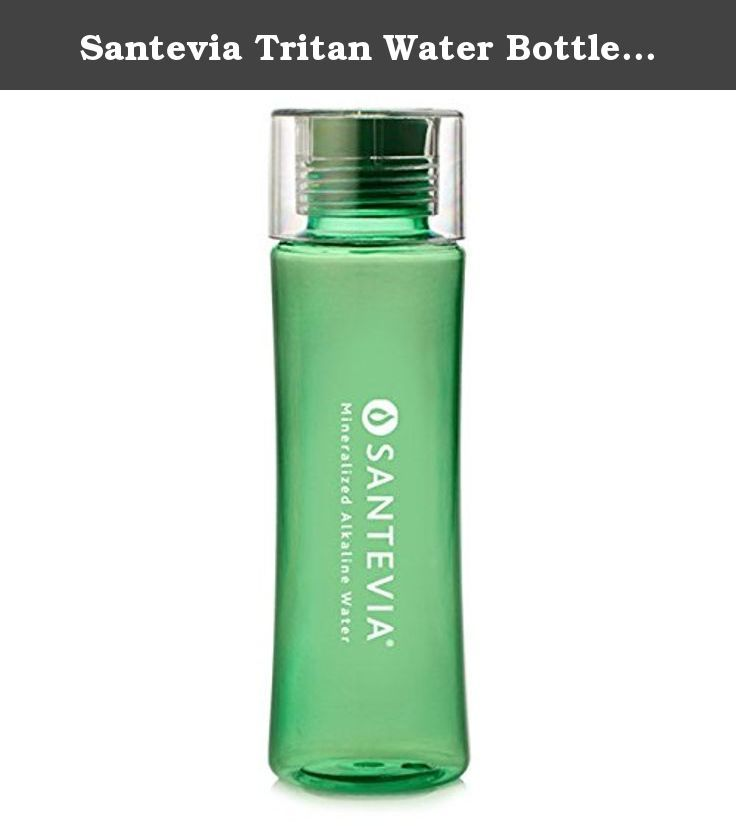 Santevia Tritan Water Bottle Green 20 oz Santevia 1 Bottle. Santevia Tritan Water Bottle Green 20 oz by Santevia 1 Bottle Santevia Tritan Water Bottle Green 20 oz 1 Bottle With a sleek and contoured easy-to-grip shape the Santevia Tritan Water Bottle is the perfect eco-friendly companion for the gym hiking or just on the go. Conveniently fits most conventional cupholders and bike bottle cages. Capacity 20 Ounces 600 mL FDA-Approved Co-Polymer Plastic BPA FREE Hormone Free Microbial…