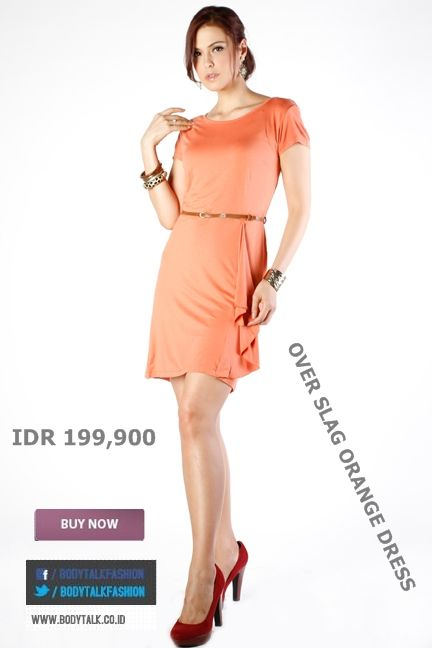 Feeling Fresh with orange try this on ladies only IDR 199,900 >> http://ow.ly/ufxrC