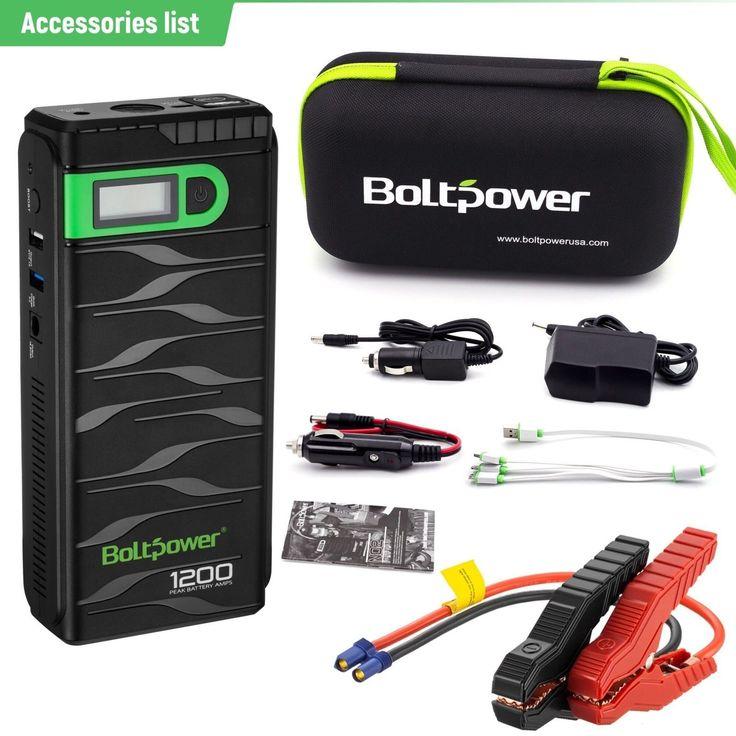 Portable Car Jump Starter Battery Booster Pack Power Charger Truck Box 1200 AMP | eBay