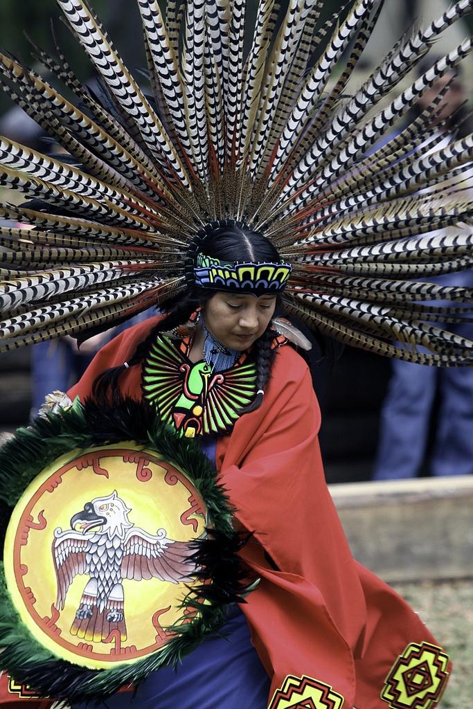 Native American Indian - Beautiful Feathers