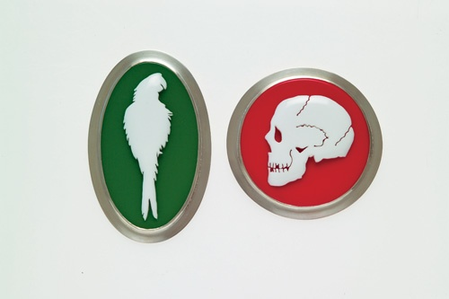 Octavia Cook, Parrot and Skull Cameos c2003