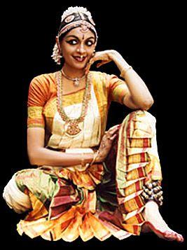 Bharatnatyam - classical dance from Tamil Nadu, India