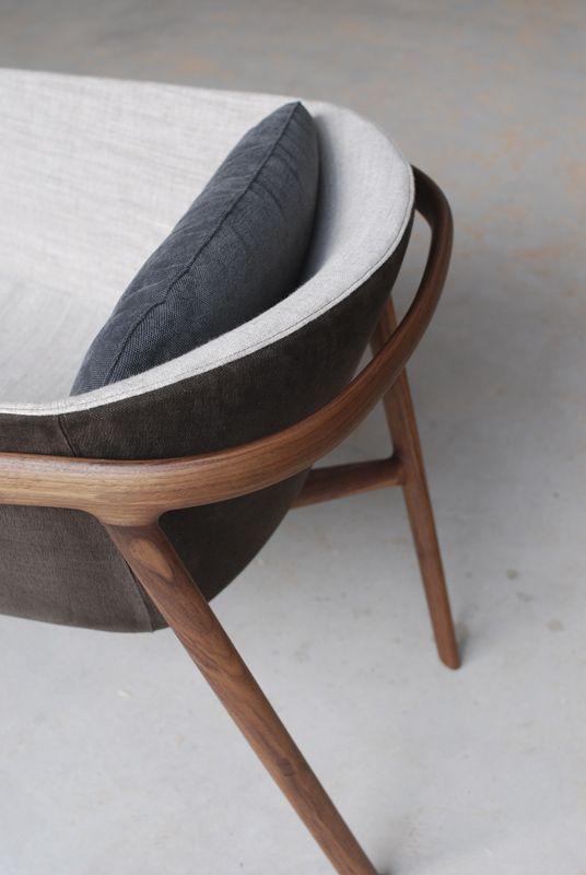 Golondrina armchair for Miyazaki Chair Factory by Jorge herrera studio #furniture #design