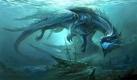 Blue Dragon v2 by sandara   / http://sandara.deviantart.com/art/Blue-Dragon-v2-578063147